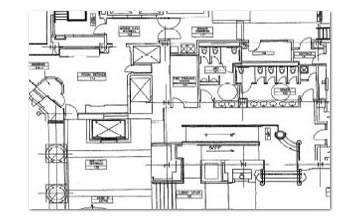 Open kitchen restaurant layout afreakatheart for Blueprints of restaurant kitchen designs